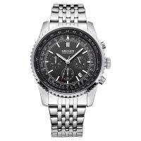 2018新款 美格尔多功能男士手表 钢带防水时尚运动男腕表2008