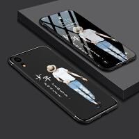 iPhone xr手机壳苹果xr保护套硅胶全包防摔壳苹果 XR个性创意xr男女款情侣卡通6.1寸磨砂 【天线款】苹果X