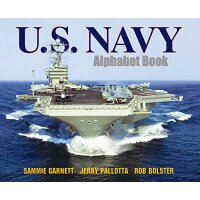 英文原版 U.S. Navy Alphabet Book