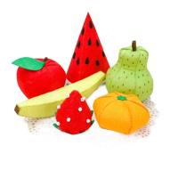 幼儿园免裁剪不织布手工布艺DIY材料包美乐滋水果蔬菜套
