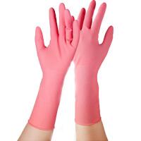 乳胶家务手套 [4只左右通用] 薄款清洁洗碗洗衣服
