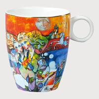 德国高宝Goebel进口欧式陶瓷实用马克杯 创意礼品办公室牛奶咖啡杯 阿斯蒙迪