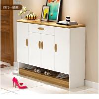 简约现代鞋柜烤漆多功能简易经济型组装大容量客厅玄关门厅柜 组装