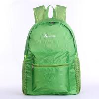 户外轻便双背包旅行大容量双肩背包男防水皮肤包可折叠便携登山包