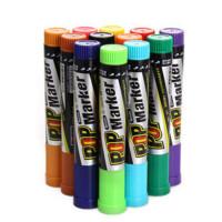 套装 彩色POP马克笔 6/12/20/30mm广告笔海报笔 G-0928T 6mm宽/12色套装