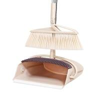 防风扫把簸箕套装组合软毛家用折叠扫帚魔法笤帚卫生间扫水扫头发