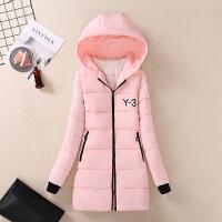 2018冬装韩版女装修身中长款羽绒加厚中学生少女棉衣棉袄外套