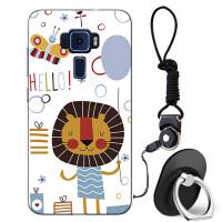 华硕zenfone3灵智手机壳ze552kl保护套Z012D简约防摔女款潮男软胶