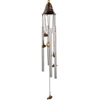 风铃挂件四管铃铛田园风铃挂门挂饰创意生日礼物装饰品