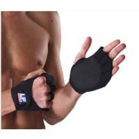 镂空短指手套健身护掌半指运动器械训练男女卧推举重杠铃哑铃手套防滑手套