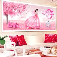 点贴钻十字绣2018新款客厅结婚喜庆5d钻石画情侣满钻钻石绣砖石画
