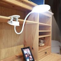 可充电式护眼台灯 led创意夹子学生卧室学习触摸小台灯 kp6