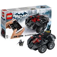 当当自营LEGO乐高DC超级英雄蝙蝠侠系列APP遥控蝙蝠车76112塑料积木玩具