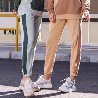 【1件5折到手价:154.5】美特斯邦威休闲裤女束脚2020新款春季时尚韩版撞色休闲女士运动裤