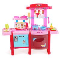 �和��^家家�N房玩具套�b�N具餐具女孩�^家家餐�_�N�_煮�玩具 快�沸�N��餐�_