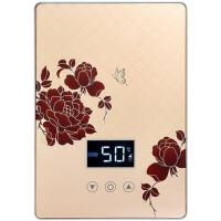 即热式电热水器小型淋浴快速热恒温变频壁挂过水热洗澡机家用