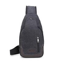 包包2017新款男士胸包帆布包斜挎包男包单肩包韩版小背包休闲腰包
