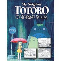 �F� �m崎�E ���涂色�� 英文原版 My Neighbor Totoro Colouring Book 同名�影周��M口