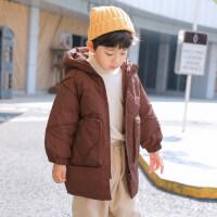 男童棉衣冬装2018新款儿童加厚外套冬季棉袄中长款宝宝韩版潮