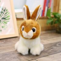 仿真小白兔公仔毛绒玩具兔兔布娃娃可爱小兔子玩偶儿童生日礼物女
