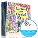 Big Cat Phonics Blue 大猫自然拼读法4级别 幼儿园阶段学习读物 英文原版绘本蓝色套装全14册 4-