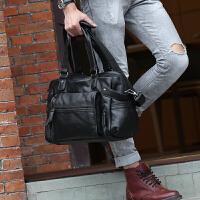 韩版男包时尚休闲包单肩包斜挎商务公文手提包旅行电脑男士包包潮