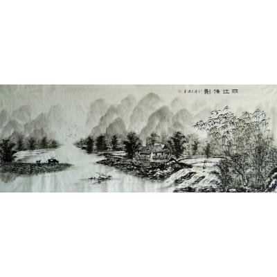 丽江倩影   现代画家   肖建