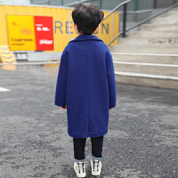 男童呢子大衣儿童毛呢外套秋装加厚秋冬款韩版潮冬装2018新款冬季