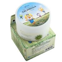 啵乐乐韩国进口宝宝金盏花植物淡香型保湿面霜100g