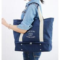 20180501133043055旅行包帆布男手提包大容量女士包袋多功能户外运动包行李箱拉杆包