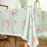 餐桌布布艺田园小清新电视柜茶几桌布欧式台布床头柜沙发盖布布料