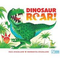 Dinosaur Roar! 英文原版 恐龙嗷呜吼 新版 送一张海报