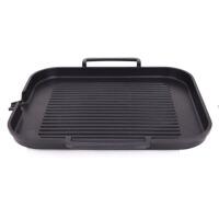 电磁炉烤盘 韩式铁板烧烤肉盘牛排麦饭石自助无烟家用不粘锅 中号烤盘