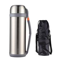 不锈钢保温壶家用保温杯男暖壶瓶户外大容量车载旅游水壶2L