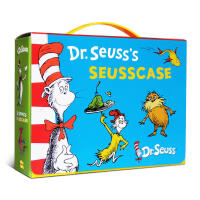 Dr.Seuss's苏斯博士系列绘本10本套装 经典故事集畅销书The cat in the hat Green eggs and ham Oh,the places you'll go