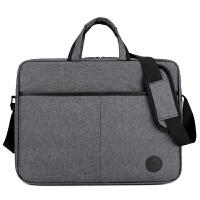联想戴尔电脑包14寸15.6英寸笔记本电脑包手提单肩包男女式斜挎包