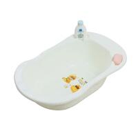 W 婴儿不可折叠浴盆宝宝洗澡盆儿童新生儿便携可坐躺小号加厚沐浴桶B31