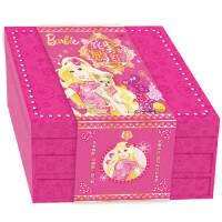 【正版新��】姹紫嫣�t芭比新年�Y盒 美��美泰公司,海豚�髅� �L江少年�和�出版社 9787556035939