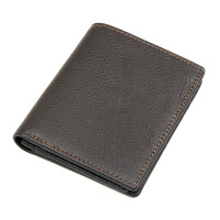 男士钱包短款防盗男士钱包行用卡名片钱包潮流时尚多卡位手拿包户外旅游购物包包 巧克力色