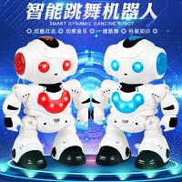 电动机器人会唱歌会跳舞儿童玩具男孩礼物遥控机器人玩具智能益智