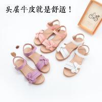 舞玛女童鞋儿童公主鞋2018新款夏季韩版女童凉鞋可爱露趾凉鞋