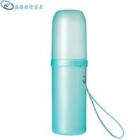 创意旅游情侣漱口杯套装盒带盖塑料刷牙杯子儿童牙刷杯便携洗漱杯