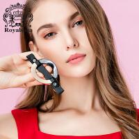 皇家莎莎发饰顶夹盘发头花发夹韩版发卡头饰品马尾夹弹簧夹横夹