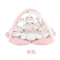 满月礼物婴儿音乐健身架0-18月游戏毯新生儿用品四季