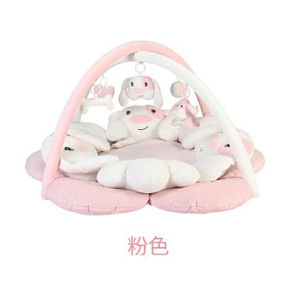 满月礼物婴儿音乐健身架0-18月游戏毯新生儿用品四季 发货周期:一般在付款后2-90天左右发货,具体发货时间请以与客服协商的时间为准