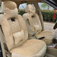 汽车坐垫冬季新款 汽车用品 汽车座垫 毛绒车垫毛垫