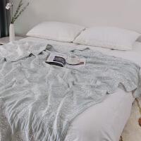 日本六层纯棉加厚毛巾被单双人柔软空调被全棉透气毛巾毯夏季被子