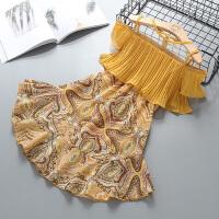 童装女童夏装新款公主裙子儿童连衣裙夏季蕾丝背心裙洋气纱裙