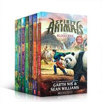 英文原版 Spirit Animals 灵兽系列7册套装 四个身世迥异的孩子与各自灵兽的碰撞 磨合 中小学课后阅读章节桥梁故事书 11-16岁
