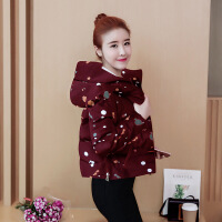 棉衣女短款2018冬季新品时尚轻薄羽绒小个子150小棉袄外
